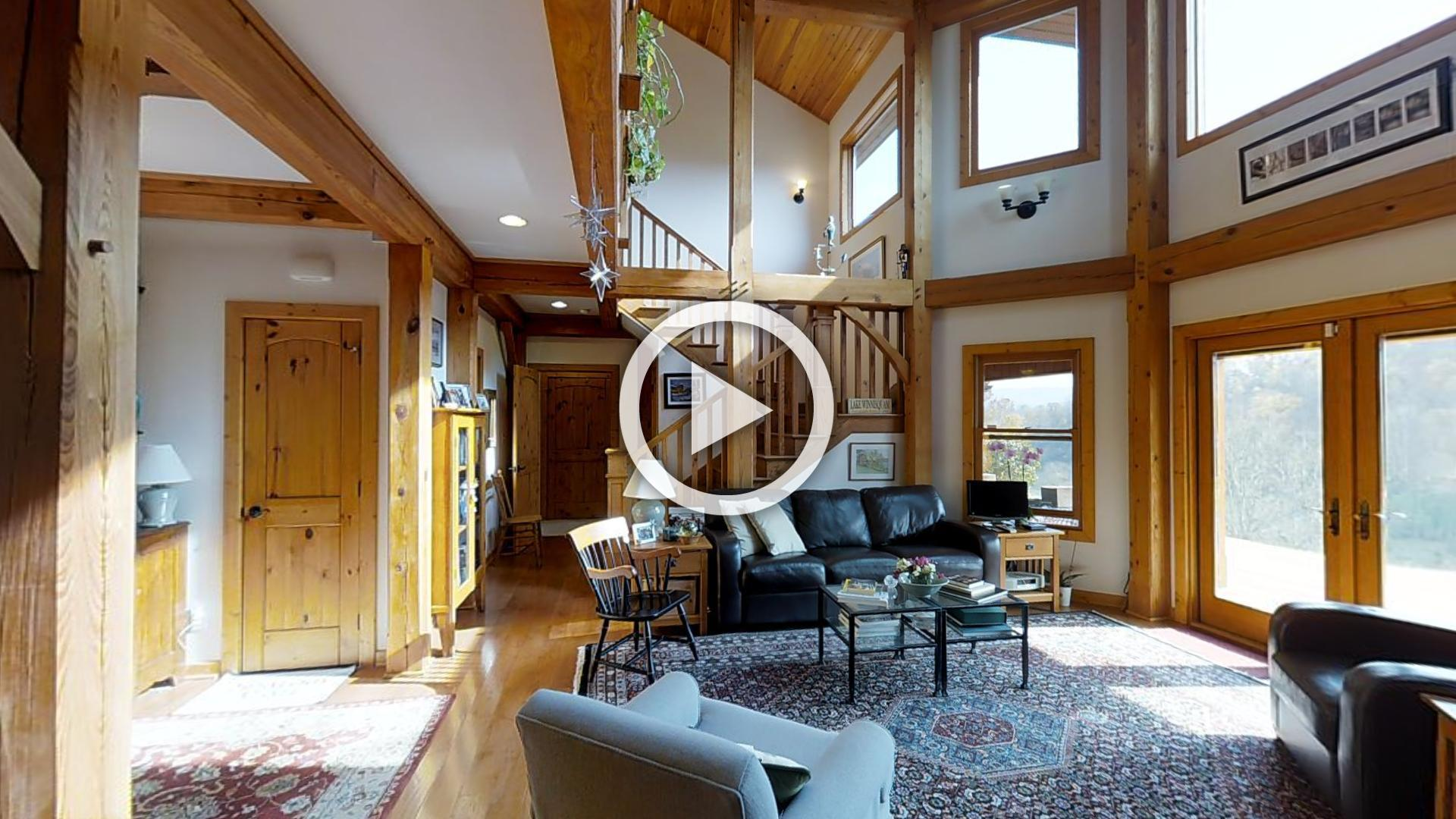 Timber Frame Home For Sale In Marion Va Mountain Sky