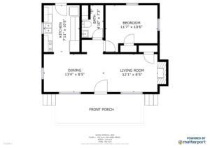 Floor Plan - Claytor Lake Home